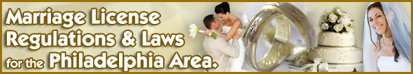Marriage License Regulations and Laws for PA