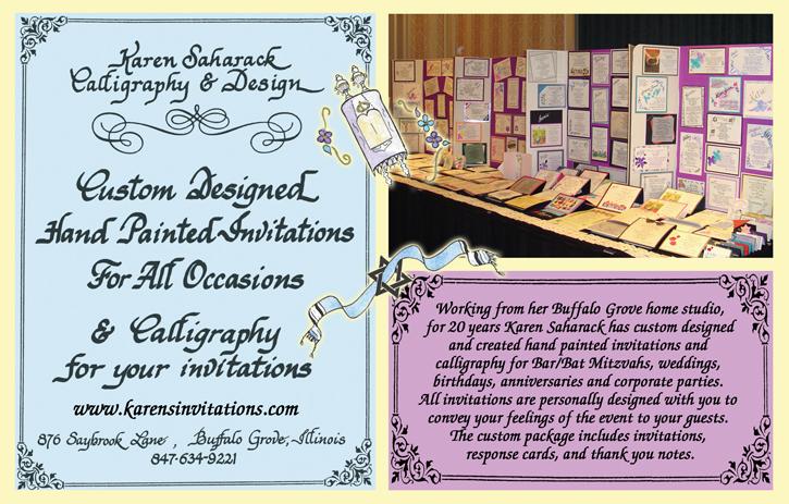 Karen Saharack Calligraphy Design